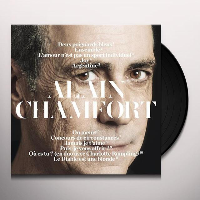 ALAIN CHAMFORT Vinyl Record - Canada Import