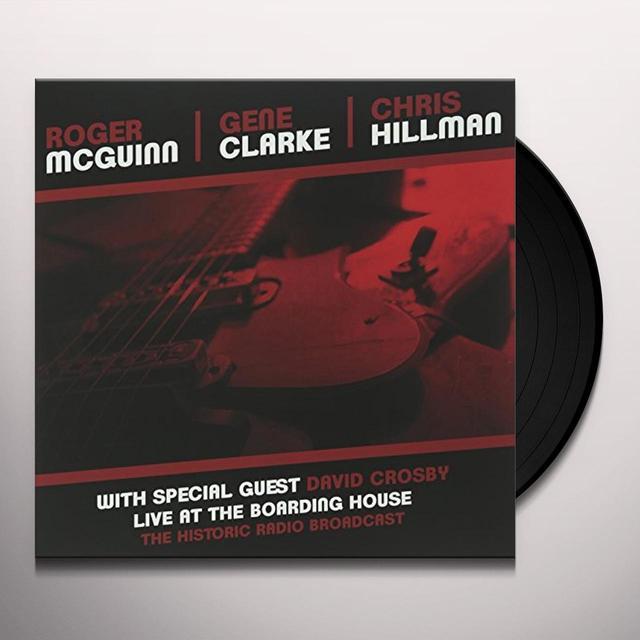 Clark Mcguinn / Hillman LIVE AT THE BOARDING HOUSE Vinyl Record - UK Import