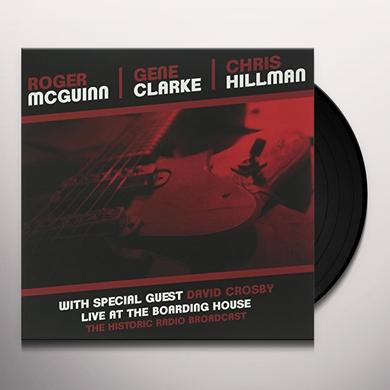 Clark Mcguinn / Hillman LIVE AT THE BOARDING HOUSE Vinyl Record - UK Import