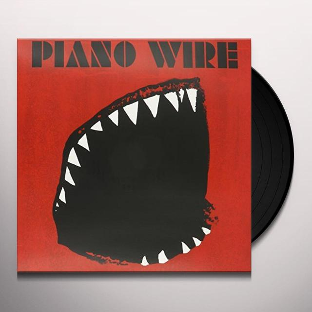 PIANO WIRE GENIUS OF CROWD Vinyl Record - UK Import
