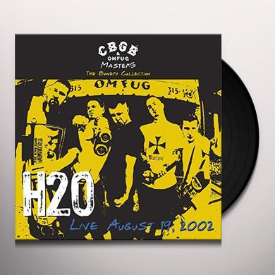 H2O CBGB OMFUG MASTERS: LIVE AUGUST 19 2002 THE BOWERY Vinyl Record
