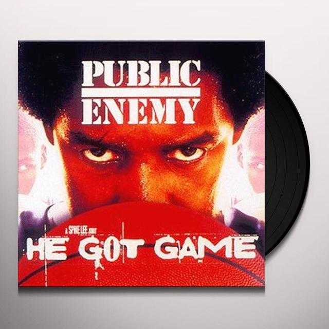 Public Enemy HE GOT GAME Vinyl Record