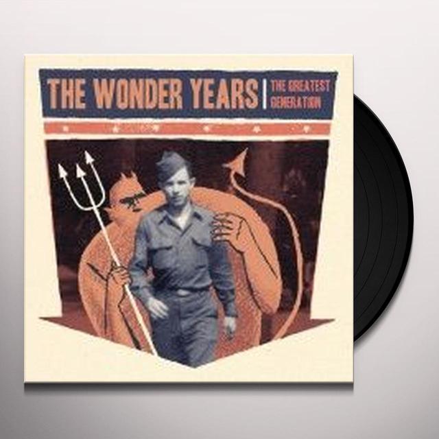 Wonder Years GREATEST GENERATION Vinyl Record - Gatefold Sleeve