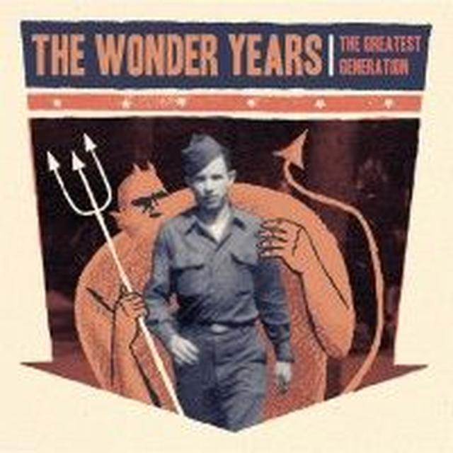 Wonder Years GREATEST GENERATION Vinyl Record