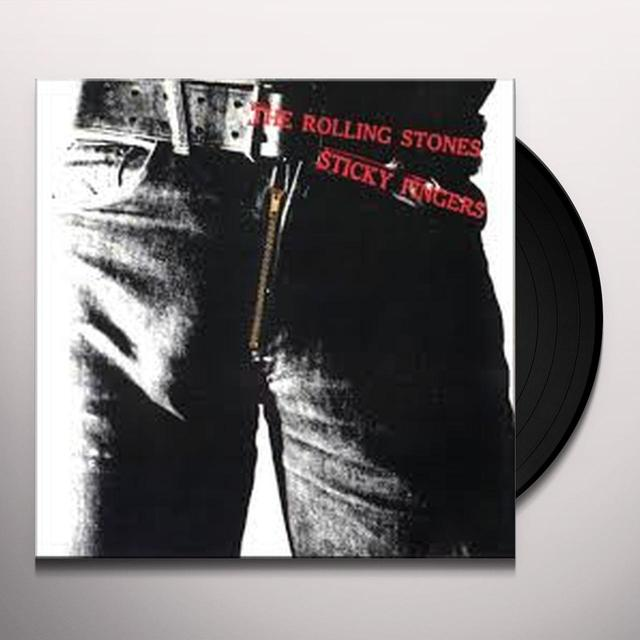 The Rolling Stones STICKY FINGERS Vinyl Record - Limited Edition, Deluxe Edition