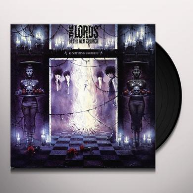 Lords of the New Church IS NOTHING SACRED?  (VIOL) Vinyl Record - Limited Edition
