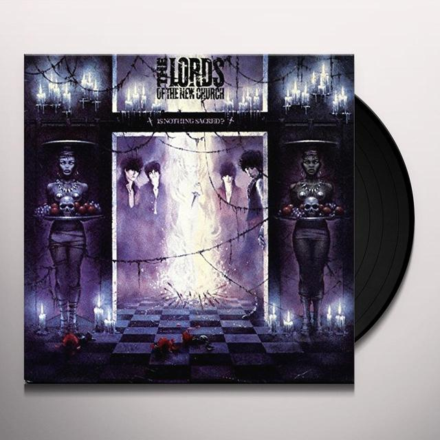 Lords of the New Church IS NOTHING SACRED? Vinyl Record
