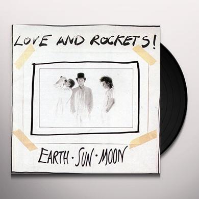 Love & Rockets EARTH SUN MOON Vinyl Record - Black Vinyl, Limited Edition, 200 Gram Edition