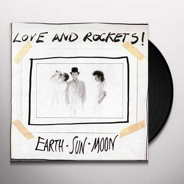 Love & Rockets EARTH SUN MOON Vinyl Record
