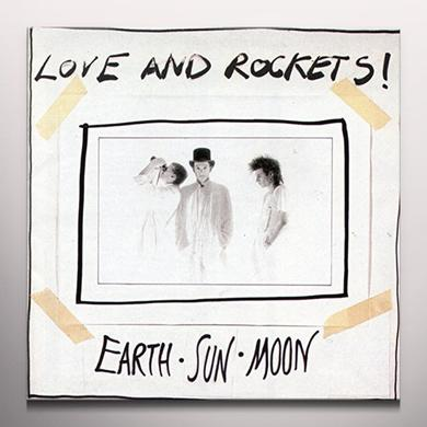 Love & Rockets EARTH SUN MOON Vinyl Record - Gray Vinyl, Limited Edition