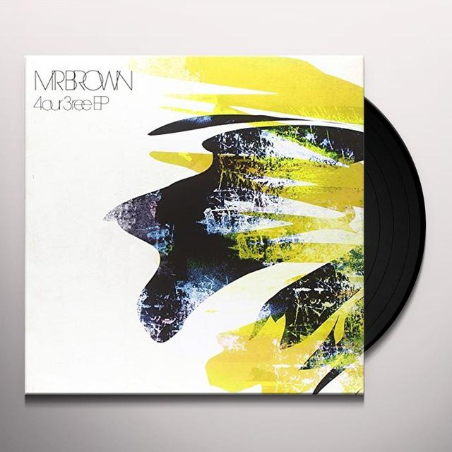 MR BROWN 4OUR 3REE (EP) Vinyl Record - UK Import