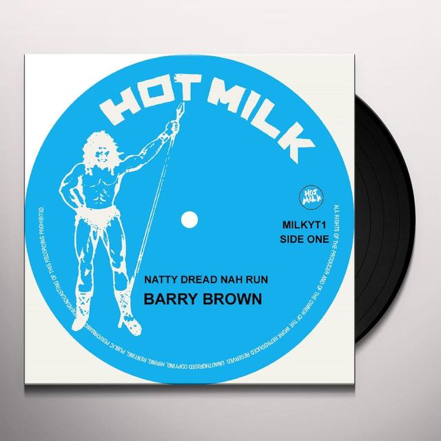 Barry Brown / Barrington Levy / Papa Tullo NATTY DREAD NAH RUN / SHE ROB & GONE Vinyl Record