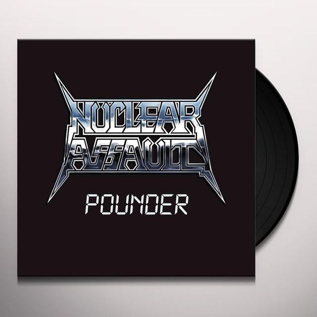 Nuclear Assault POUNDER Vinyl Record - UK Import
