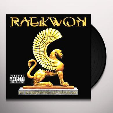 Raekwon FLY. INTERNATIONAL. LUXURIOUS. ART. Vinyl Record