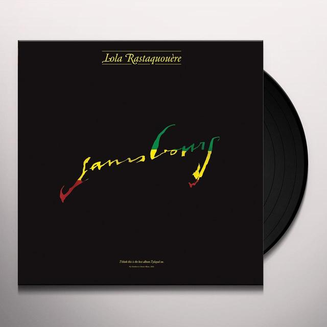 Serge Gainsbourg LOLA RASTAQUOUERE Vinyl Record
