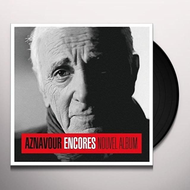 Charles Aznavour ENCORES Vinyl Record - UK Import