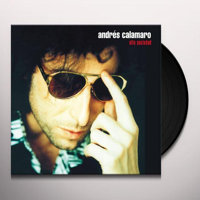Andres Calamaro ALTA SUCIEDAD (BONUS CD) Vinyl Record - Spain Import