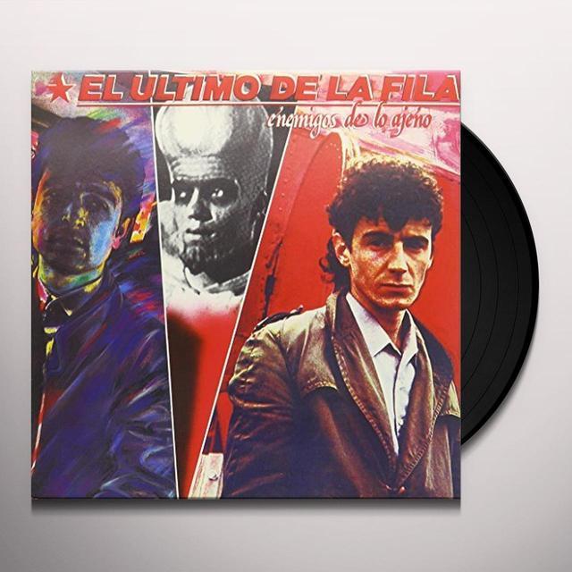 ULTIMO DE LA FILA ENEMIGOS DE LO AJENO (BONUS CD) Vinyl Record - Spain Import