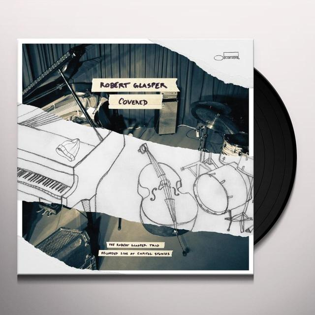 Robert Glasper Experiment COVERED (RECORDED LIVE AT CAPITOL STUDIOS) Vinyl Record - 180 Gram Pressing