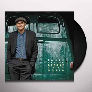 James Taylor BEFORE THIS WORLD Vinyl Record