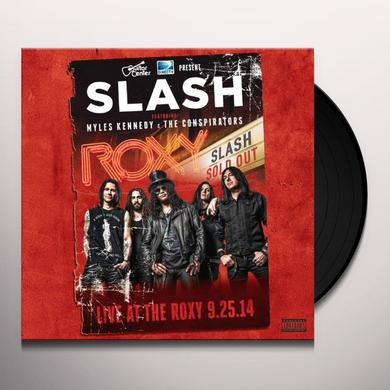Slash LIVE AT THE ROXY 09.25.14 Vinyl Record
