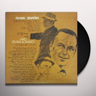Frank Sinatra WORLD WE KNEW Vinyl Record