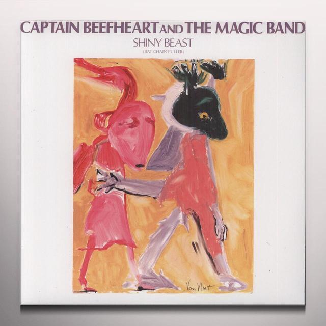 Captain Beefheart SHINY BEAST - BAT CHAIN PULLER Vinyl Record - Colored Vinyl, Reissue