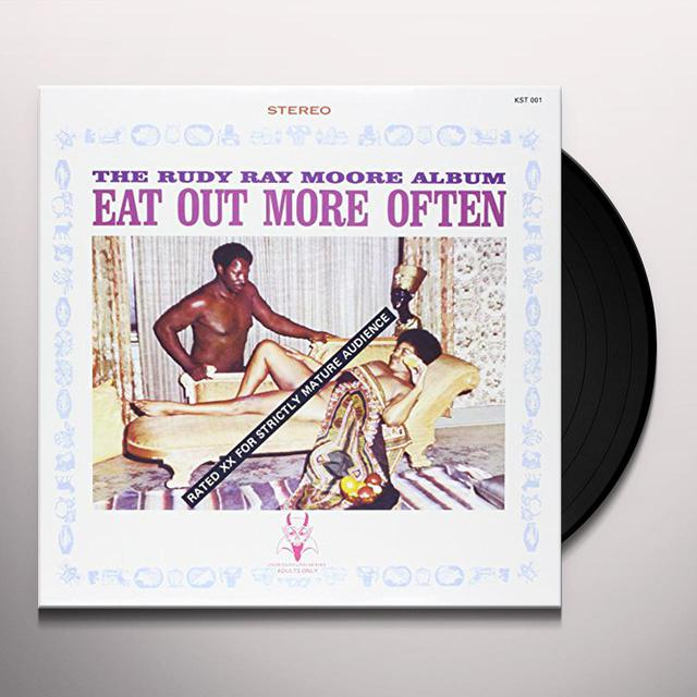 Rudy Ray Moore EAT OUT MORE OFTEN Vinyl Record