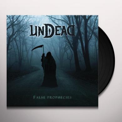 Undead FALSE PROPHECIES Vinyl Record