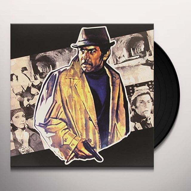 Stelvio Cipriani LA POLIZIA RINGRAZIA Vinyl Record