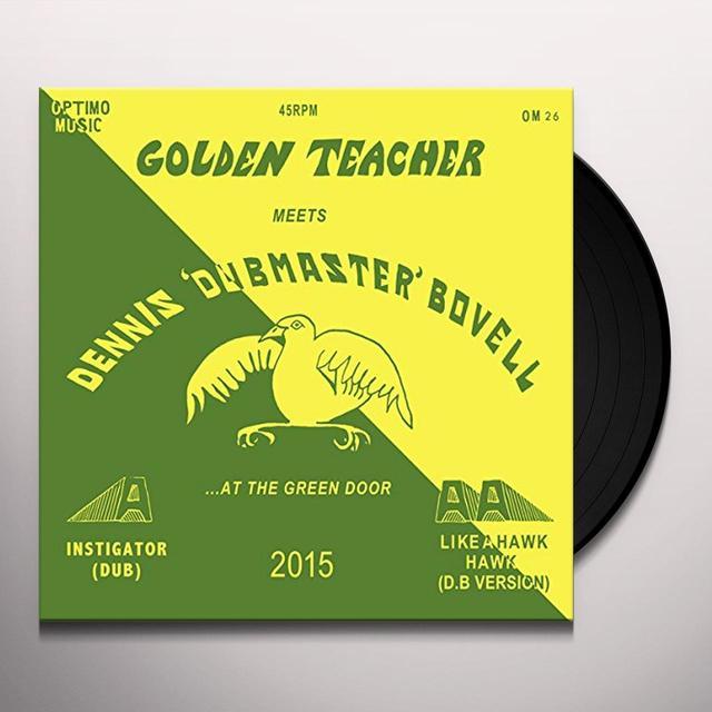 Golden Teacher / Dennis Bovell GOLDEN TEACHER MEETS DENNIS BOVELL AT GREEN DOOR Vinyl Record