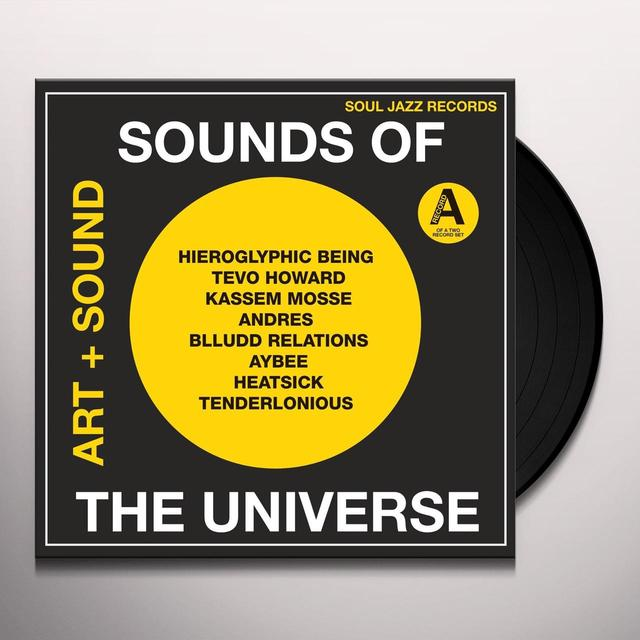 Soul Jazz Records Presents SOUNDS OF THE UNIVERSE 1 PT A Vinyl Record - Gatefold Sleeve, Digital Download Included
