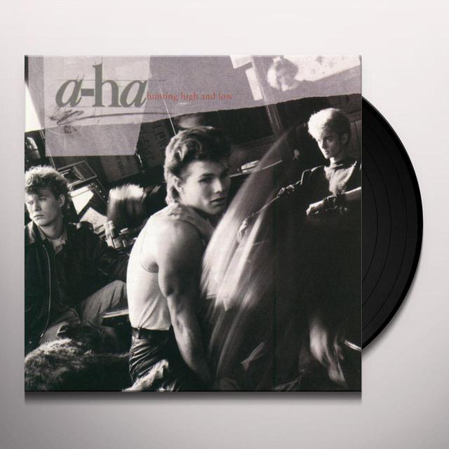 a-Ha HUNTING HIGH & LOW Vinyl Record