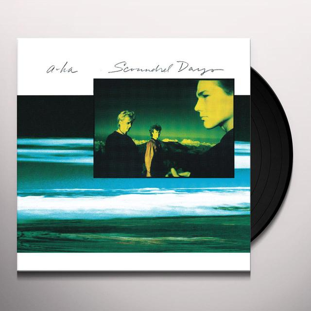 a-Ha SCOUNDREL DAYS Vinyl Record