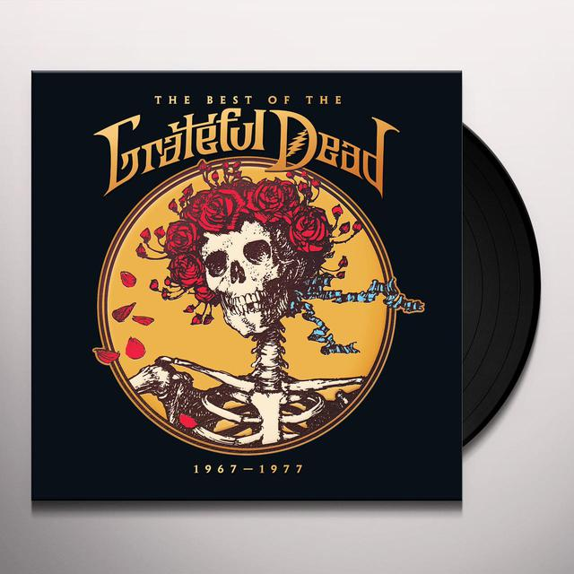 BEST OF THE GRATEFUL DEAD: 1967-1977 Vinyl Record