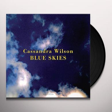 Cassandra Wilson BLUE SKIES Vinyl Record - Gatefold Sleeve