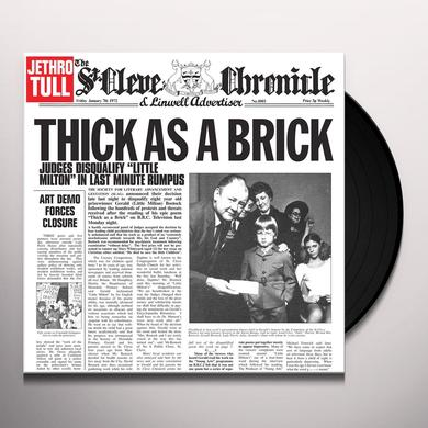Jethro Tull THICK AS A BRICK Vinyl Record - 180 Gram Pressing