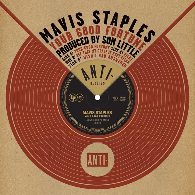 Mavis Staples YOUR GOOD FORTUNE Vinyl Record