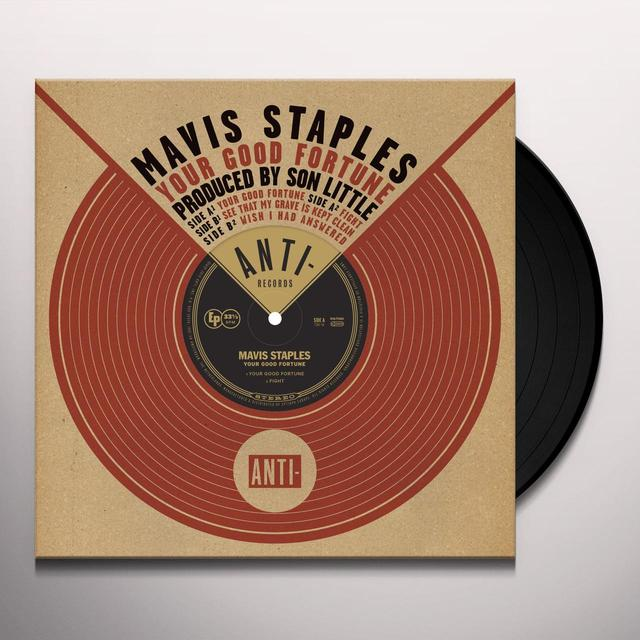 Mavis Staples YOUR GOOD FORTUNE Vinyl Record