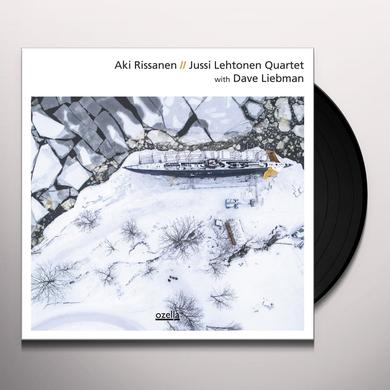 Aki Rissanen / Jussi Lehtonen WITH DAVE LIEBMAN Vinyl Record - Gatefold Sleeve
