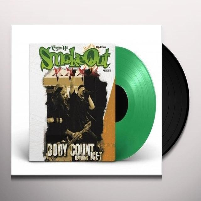 Body Count SMOKE OUT LIVE Vinyl Record