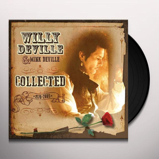 Willy Deville COLLECTED Vinyl Record - Holland Import