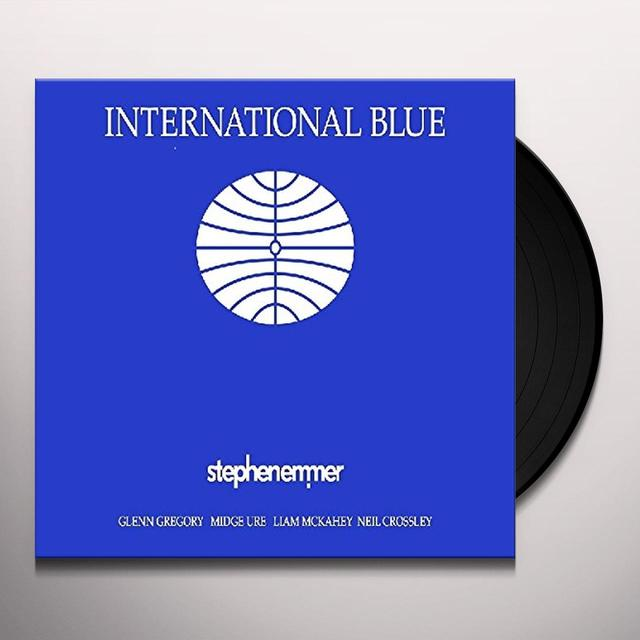 Stephen Emmer INTERNATIONAL BLUE Vinyl Record - Australia Import