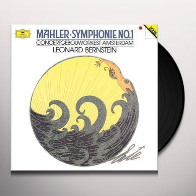 Leonard Bernstein MAHLER: SYMPHONY NO. 1 (HK) Vinyl Record