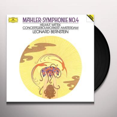 Leonard Bernstein MAHLER: SYMPHONY NO. 4 Vinyl Record