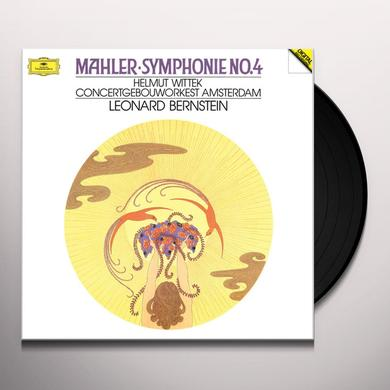 Leonard Bernstein MAHLER: SYMPHONY NO. 4 (HK) Vinyl Record