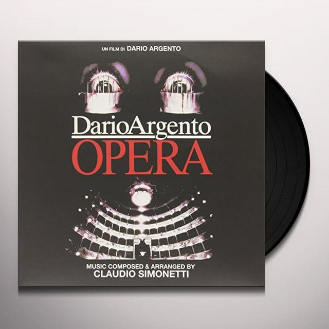 Claudio Simonetti OPERA Vinyl Record - Italy Import