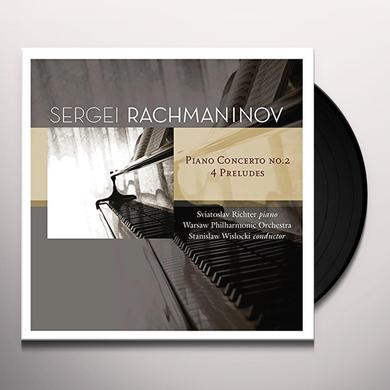 Sergei Rachmaninov, Fritz Kreisler PIANO CONCERTS NO.2-4 PRELUDES Vinyl Record - Holland Import