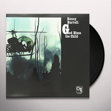Kenny Burrell GOD BLESS THE CHILD Vinyl Record - 180 Gram Pressing