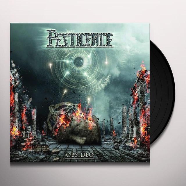 Pestilence OBSIDEO Vinyl Record - Gatefold Sleeve